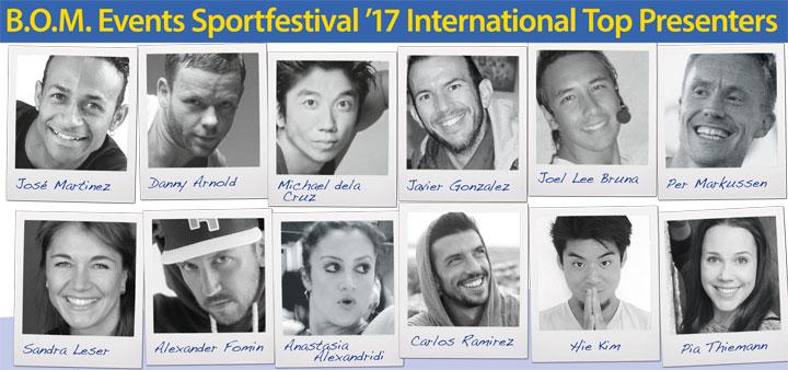 BOM-Events Sportfestival Mallorca 2017 presenters