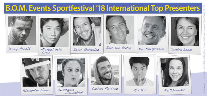 BOM-Events Sportfestival Mallorca 2018 Presenter